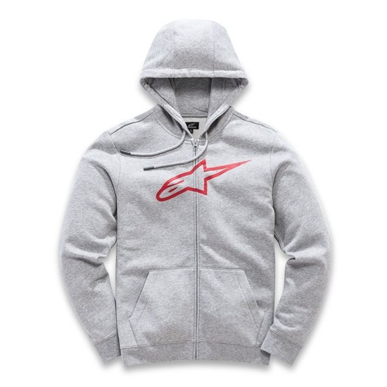 Bluza z kapturem Alpinestars AGELESS FLEECE szara